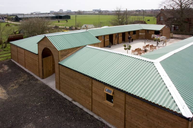 Timber Stable Complex Farmscape