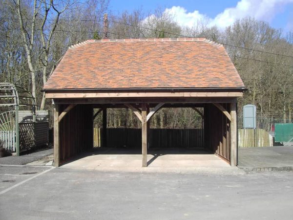 Clay tile garage 00005