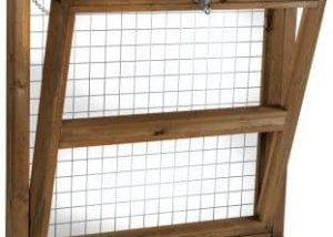 Opening Softwood Stable Window
