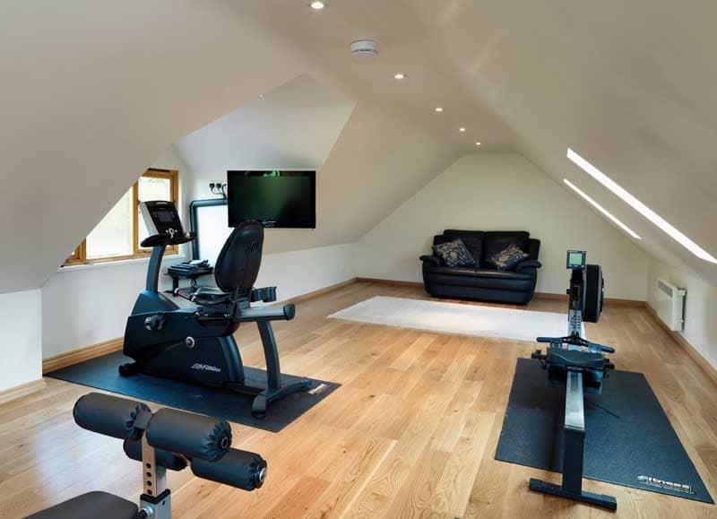 Room above Garage & Workshop 3