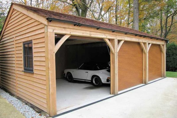 Three Bay Carport Garage