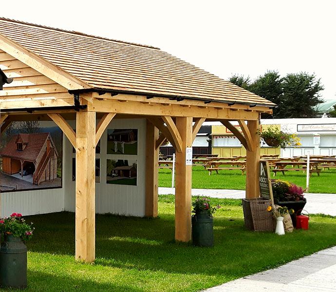 Timber Carport with 2 bays