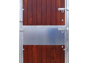 Metal Frame Stable Door with Hardwood