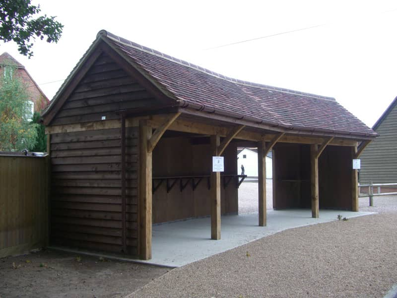 School Timber Shelter