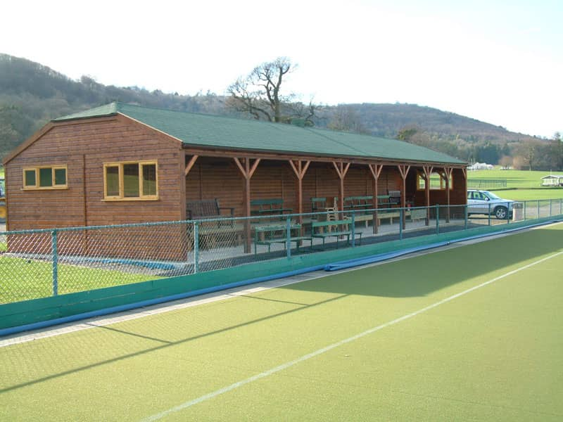 School Timber Hockey Building