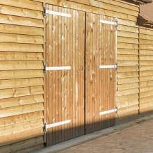 Timber Double Barn Doors