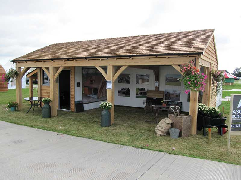 Timber Carport Deluxe 2 bay