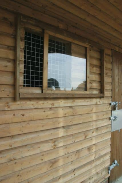 Sliding Window Stable Vent Ascot Timber Buildings